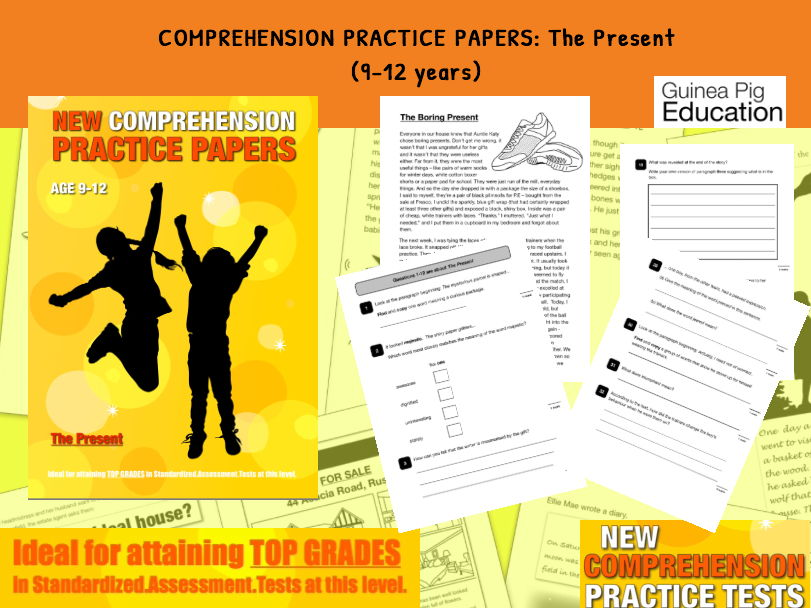 Practise SATS Tests (The Present) 9-12 years