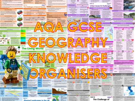 AQA 9-1 GCSE Geography Knowledge Organisers