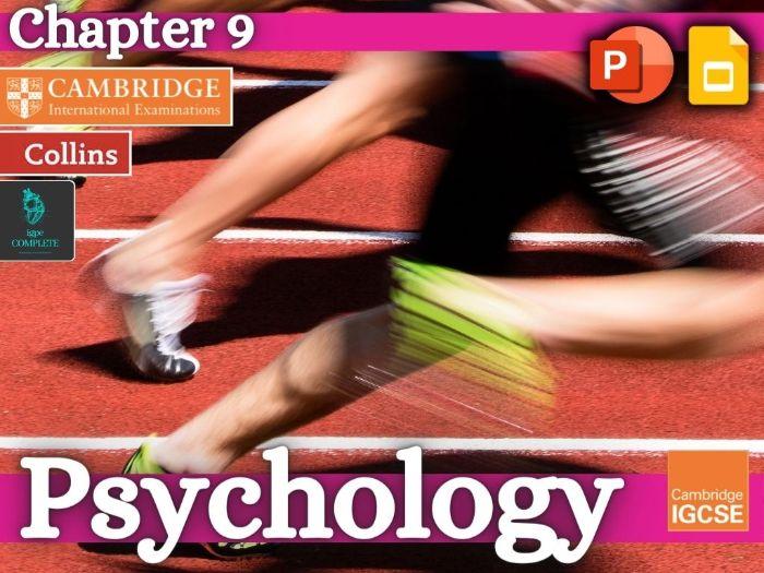 IGCSE / GCSE  PE - PSYCHOLOGY - Skill Acquisition & Sports Psychology - full teaching resource
