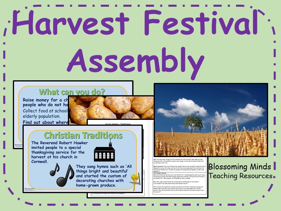 Harvest Festival Assembly