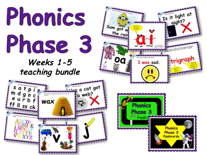 Phonics Phase 3 Weeks 1-5