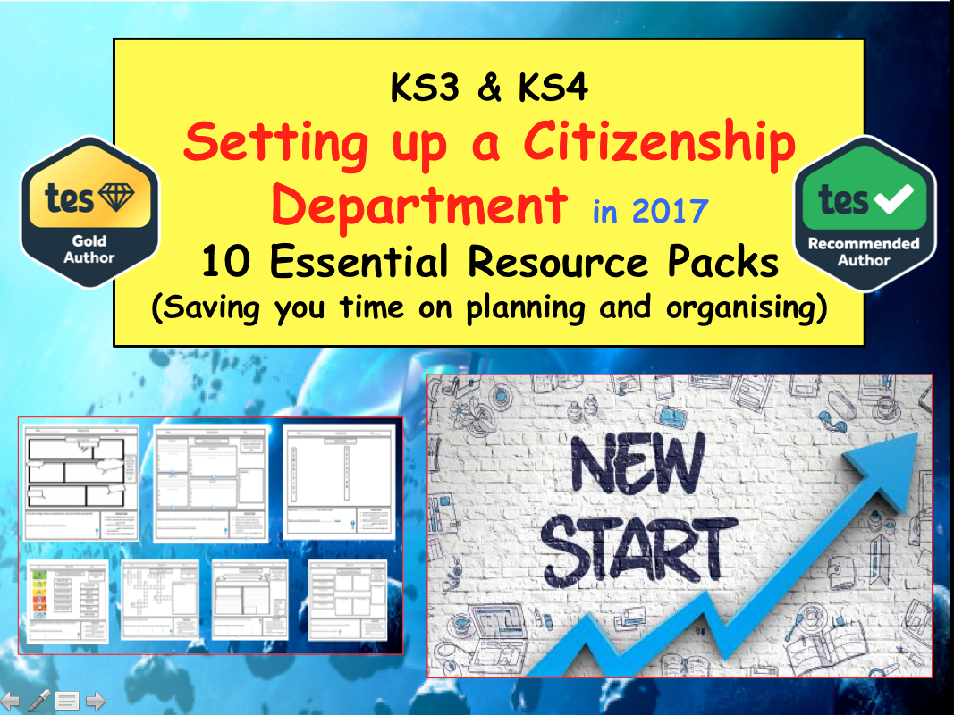 Setting up a Citizenship Department (Planning Marking Assessing  Campaigning)