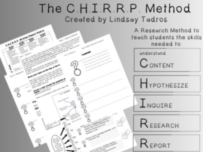 The C.H.I.R.R.P. Research Method