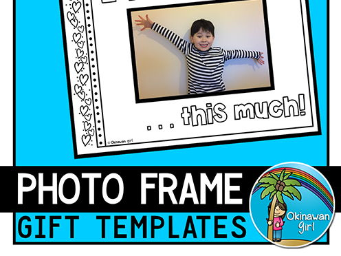 Gift Photo Frames for Valentine's, Mother's/Father's Day and Grandparents Day