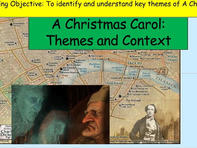 GCSE A Christmas Carol Stave 1 Activities