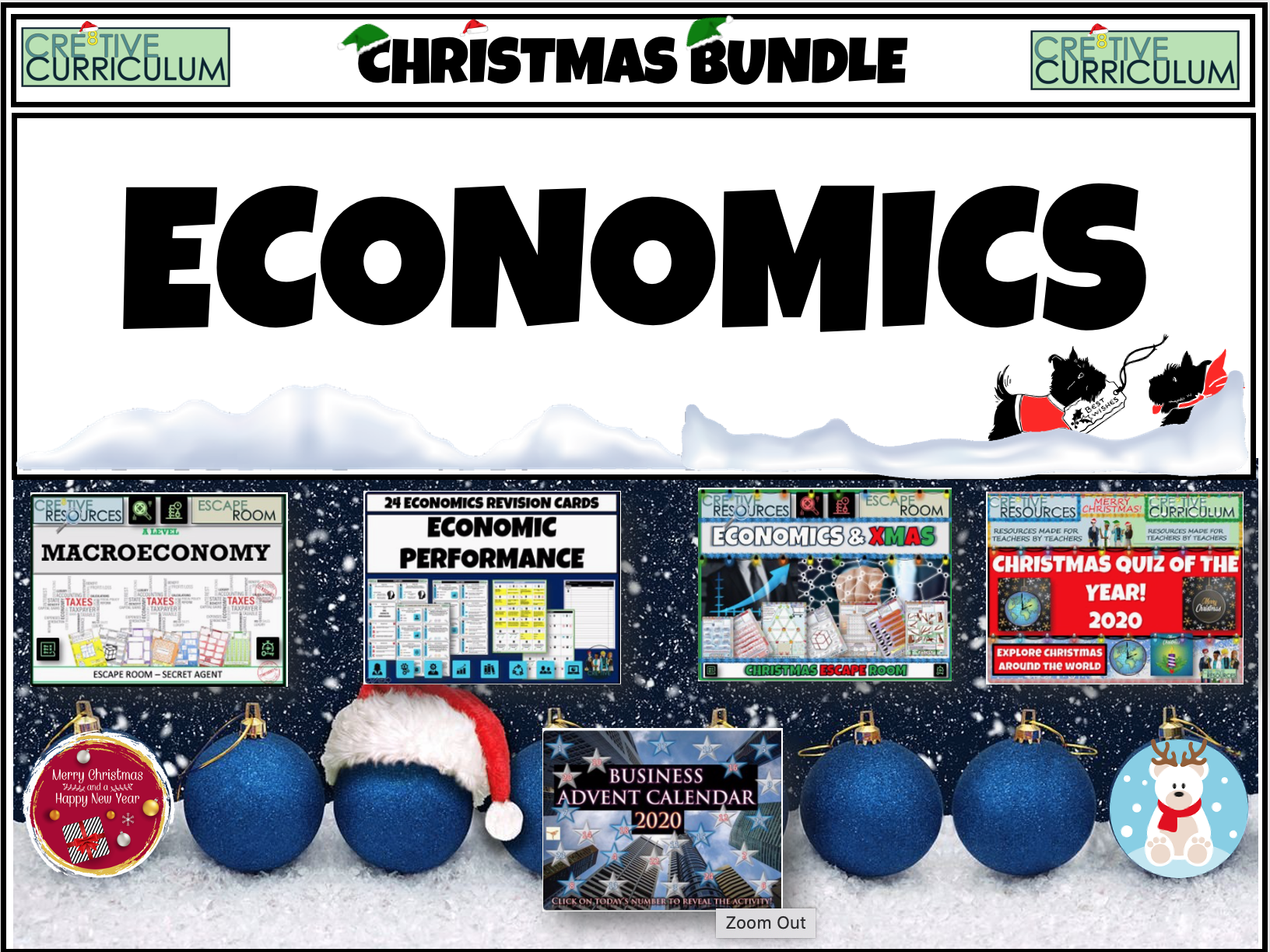 Economics Revision End of Year