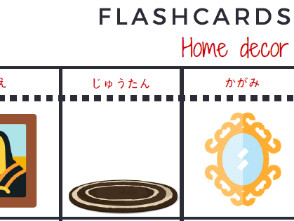 Objects in house - Flashcards