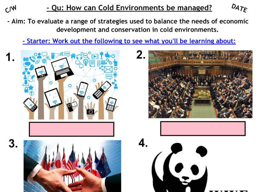 Managing Cold Environments