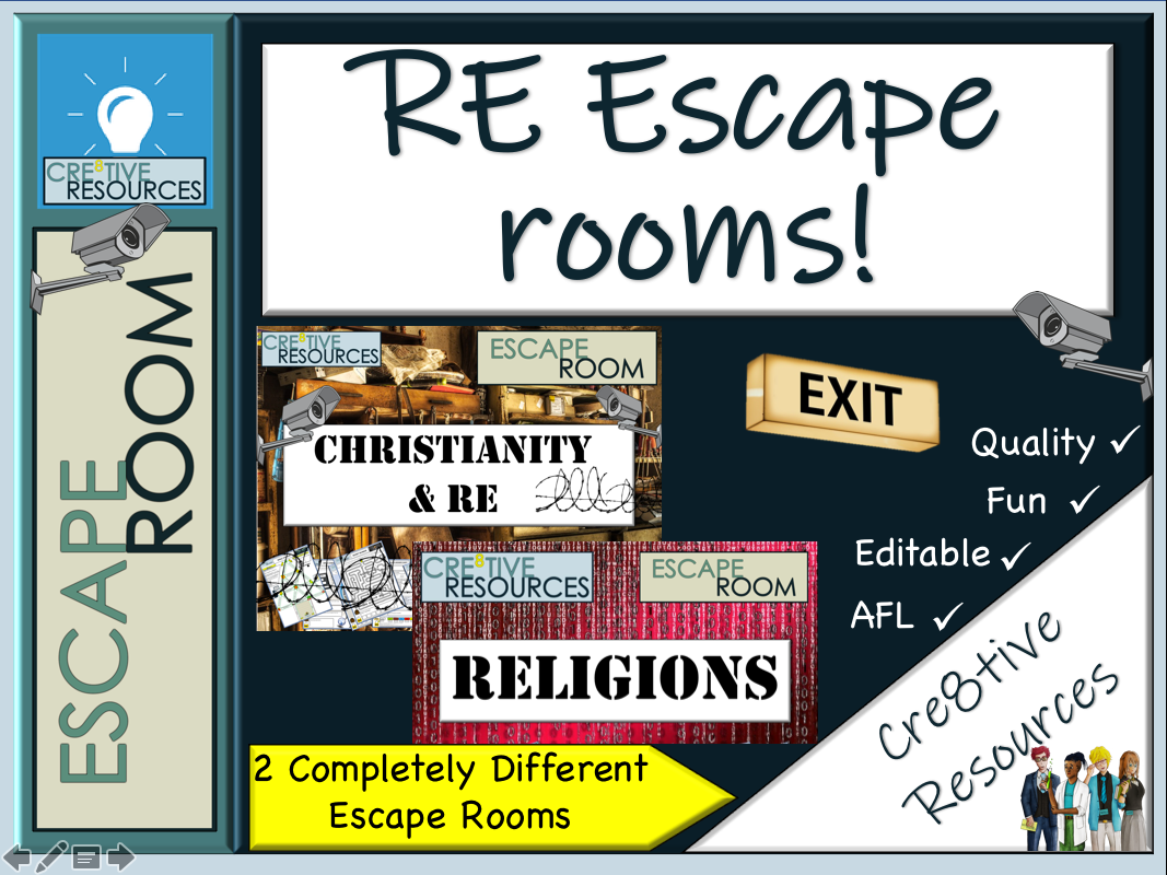 End of Term - RE Escape Rooms