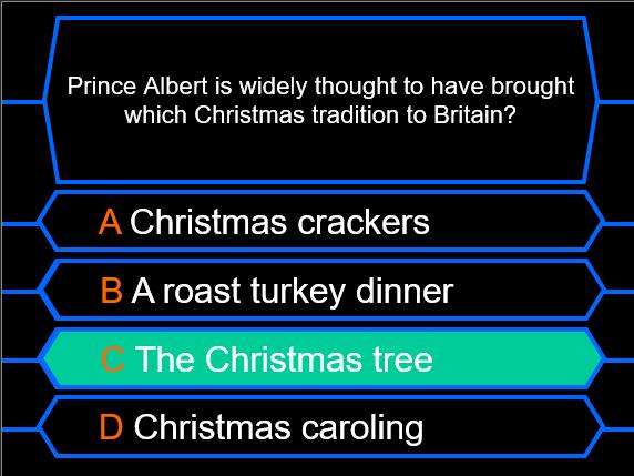 Millionaire Quiz! (Victorians Edition)