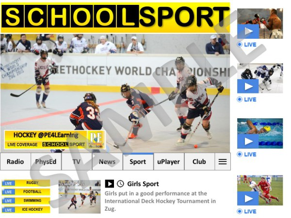 School Sport News Display Poster   PE4Learning