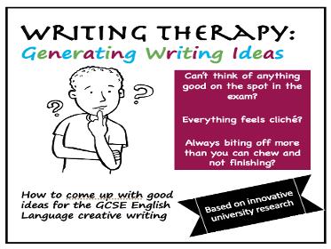 Generating GCSE Writing Ideas