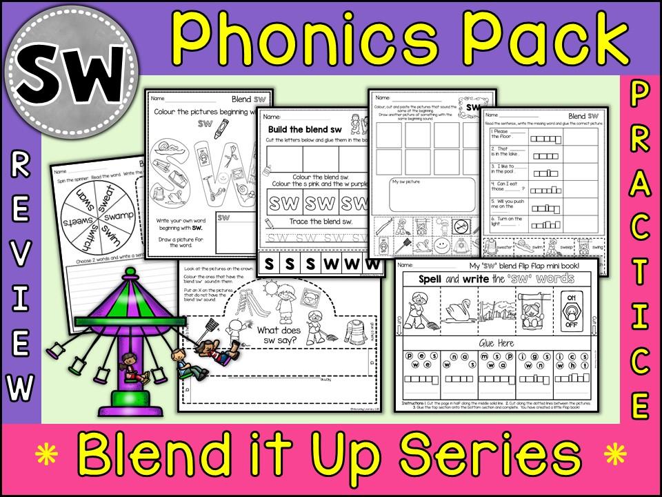 Phonics: Phonics Blend SW