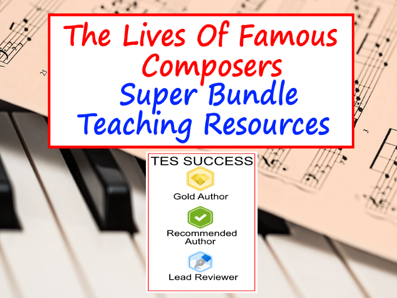 Composers Bundle: Life of famous composers