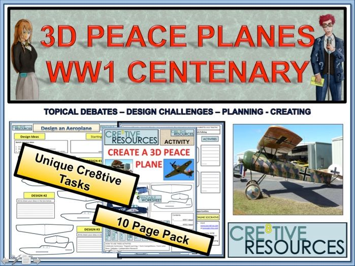 WW1 Centenary Peace Planes  - World War One