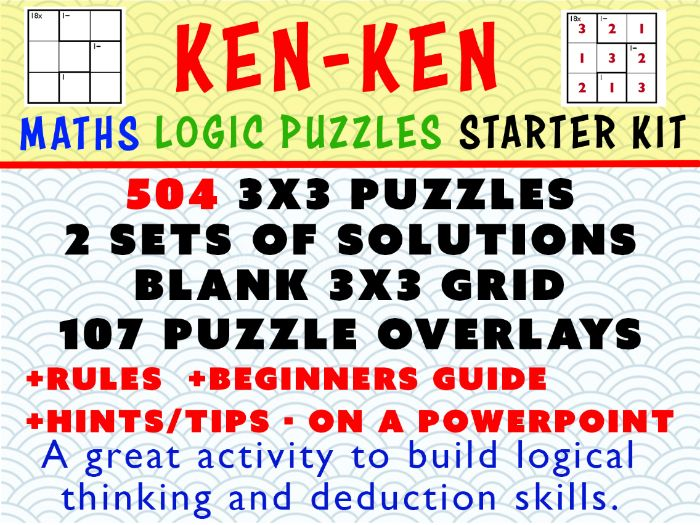 Easy MATHS LOGIC PUZZLES -  Simple Addition, subtraction, multiplication, division