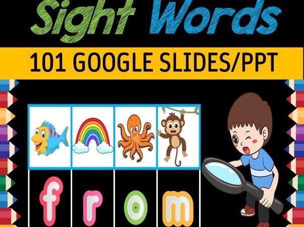 Digital Secret Code Sight Words | Fun Friday Games - 105 Google Slides/PPT
