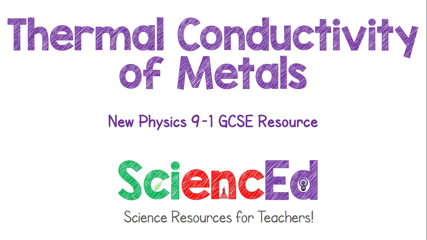 Thermal Conductivity of Metals  by SciencEd