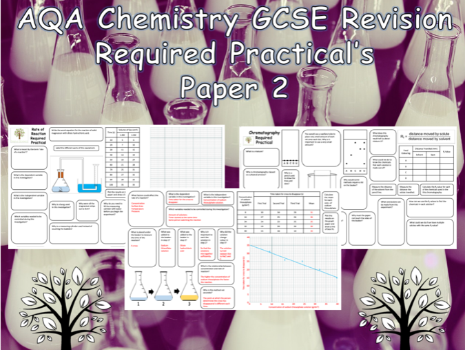 Chemistry Required Practicals - NEW AQA GCSE Chemistry Trilogy Paper 2 Revision