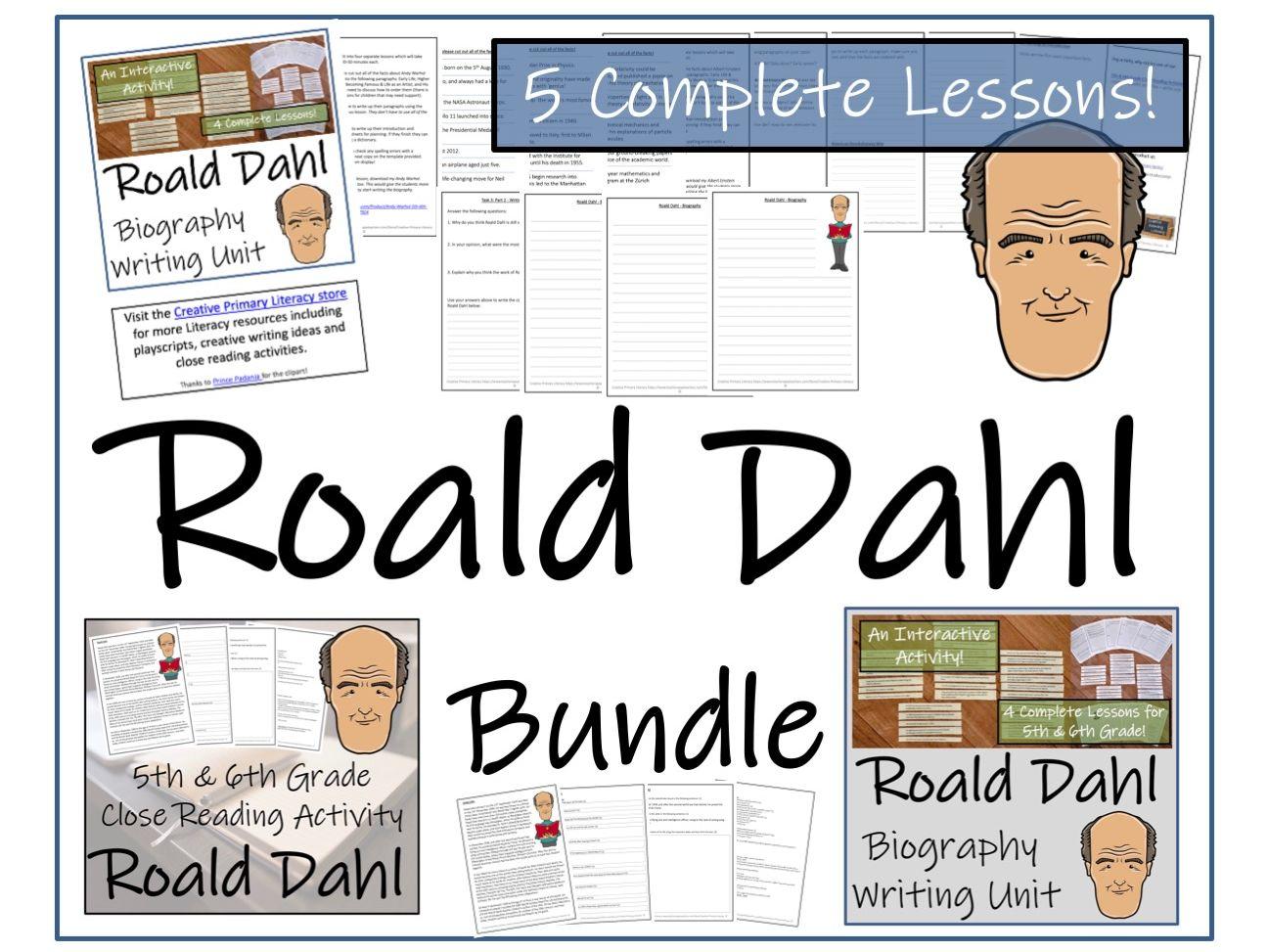 UKS2 Literacy - Bundle of Roald Dahl Activities