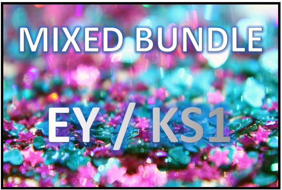 EYFS/KS1 Mixed MEGA BUNDLE