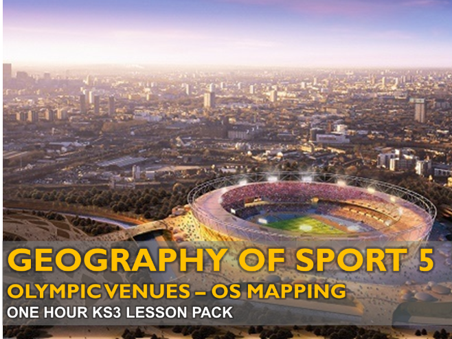 Geography of Sport 5: Olympic Venues (KS3)
