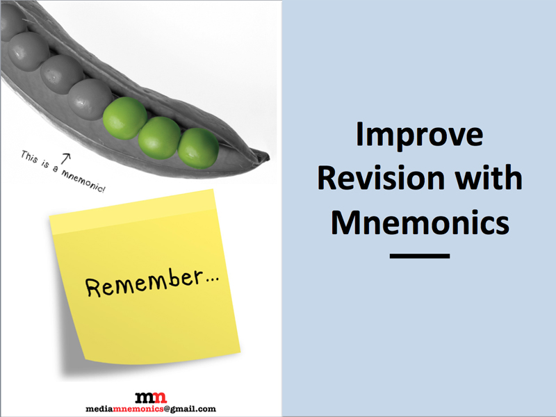 Improve revision with mnemonics