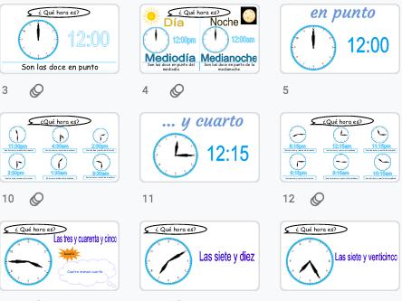Spanish: learn how to tell the time / aprende como decir la hora: ¿Qué hora es? Día, noche, mediodía