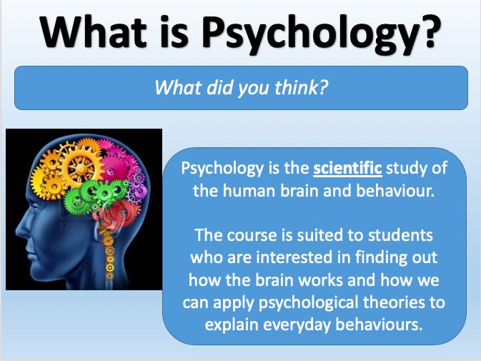 Edexcel GCSE 9-1 Psychology Course Promotion Bundle