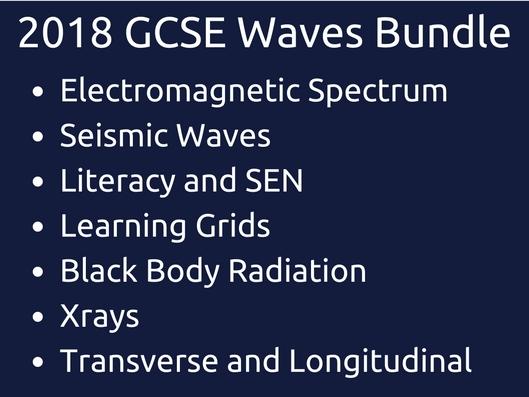 GCSE Waves Bundle 2018