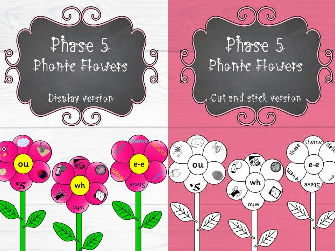 Phase 5 Phonic Flowers