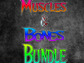 PE How to Remember Muscles and Bones Bundle