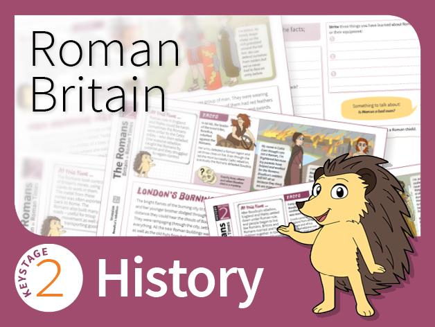 KS2 History - Roman Britain (Research Pack)