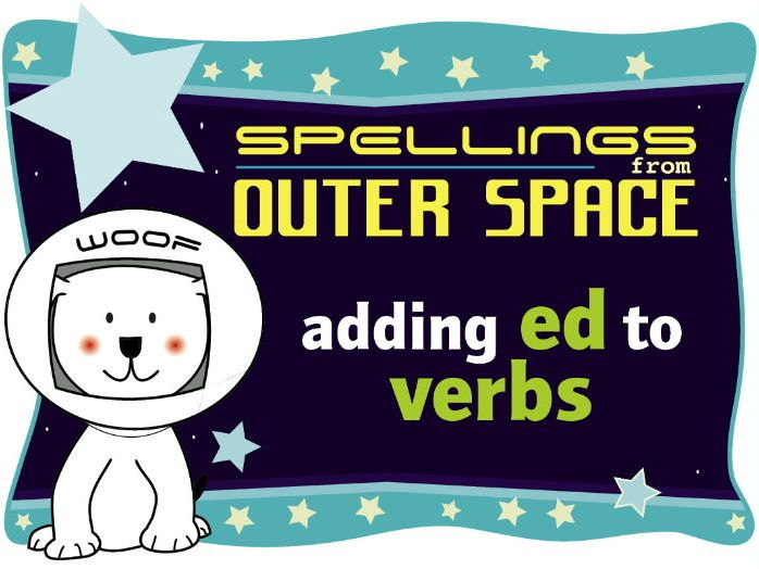 Year 1 Spellings from Outer Space: Adding ED to verbs