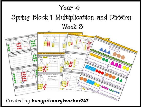 Year 4 - Spring Block 1 - Week 3 resources