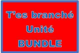 T'es branché 2 Unité 1 Bundle