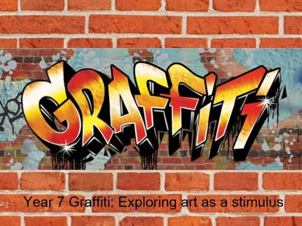Year 7 Distance Learning - Using Graffiti as a stimulus