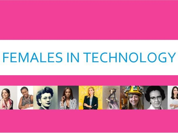Slideshow of famous females in tech