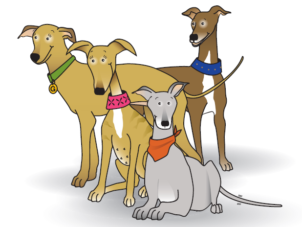 Galgo puppets