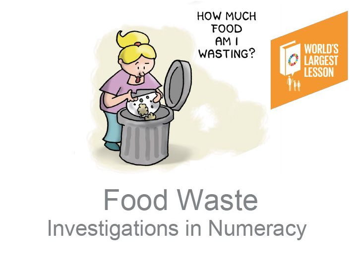 Reducing Food Waste for the Global Goals