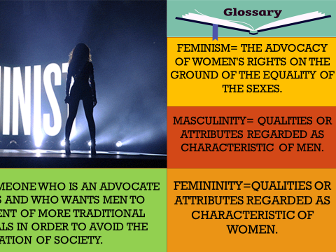 AQA MEDIA LEGACY A2: LESSON 21-22, FEMINIST PERSPECTIVES, MASCULINITY & GENDER PERFORMITY, MEST 3