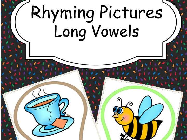 Rhyming Words - Long Vowels