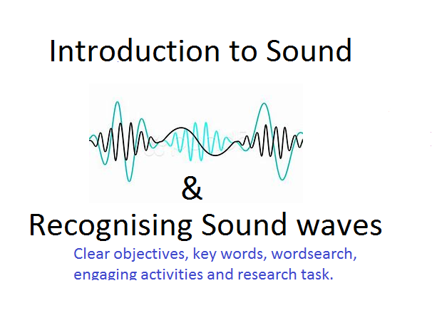 Introduction to sound and recognising sound waves (2 lessons)
