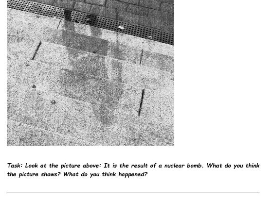 WW2 Nuclear Bombs: Work at home booklet