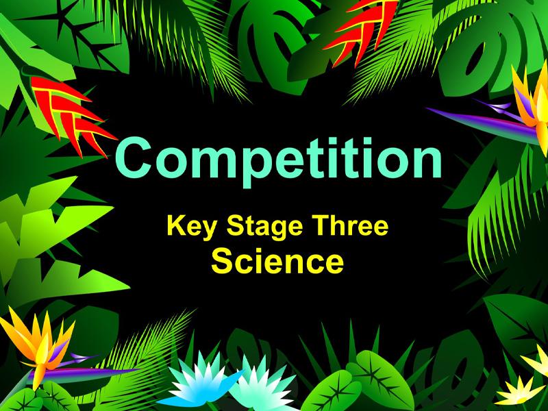 Competition AQA KS3 Science
