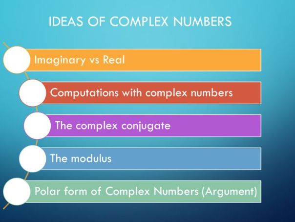 Math Complex Numbers A-Level