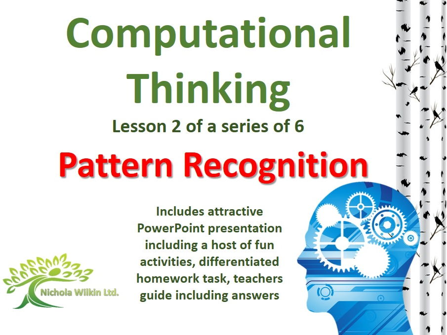 pattern recognition  computational thinking lesson  by