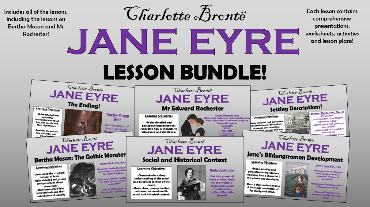 Jane Eyre Lesson Bundle!
