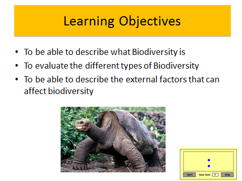 Biodiversity and its importance! An A Level Biology Lesson OCR/AQA