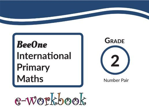 Grade 2  Number Pairs Workbook of 20 pages from BeeOne Books